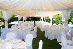 Garden location #NelloDiCesarePhotography #tables #location #wedding #WeddingPlanner #photography #green #garden