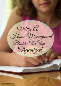 A home management binder stores everything you need for managing your home in one convenient place. Here's how to use one to stay organized!