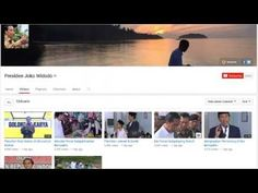 Inilah Akun Resmi Youtube Presiden Jokowi