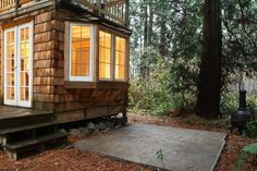 House in Point Roberts, United States. This cottage has been a year around respite for couples in the Pacific Northwest for many years.  Imagine a cottage so beautiful that you feel like you have found a little slice of heaven. Now add in a grove of magnificent cedars as your landscape...