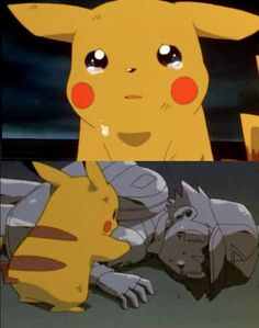 The first Pokemon Movie while not a series,  is particularly sad, and surprisingly deep when compared to the majority of the series. I wish I could make the excuse for crying hysterically over this because of being young, but I just watched that video again and cried even more. Of course, I hated the following Pokemon Generations, but that's just me. Other sad moments through the actual series were saying goodbye to Squirtle and Butterfree.