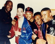 The early-90's in one picture. Kid N Play