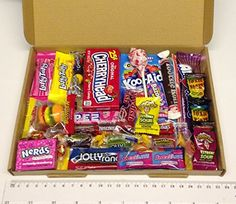 American sweets and candy box Warheads Jolly Rancher Toxic Waste Wonka Laffy Taffy Nerds Tootsie Twizzlers Letterbox Fndly Dolci Di Lechlade amazon uk