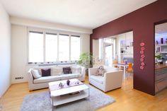 Pronájem unikátního bytu 2+kk, Praha 6 - Dejvice - Koulova, 86m2, balkon