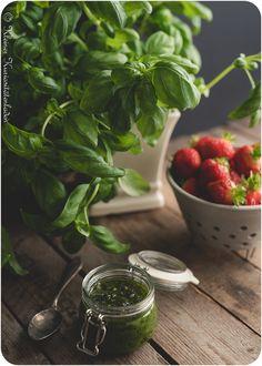 Süßes Basilikumpesto Foodblogger, Spinach, Food And Drink, Vegetables, Summer Vibes, Bella, Fangirl, Dips, Desserts