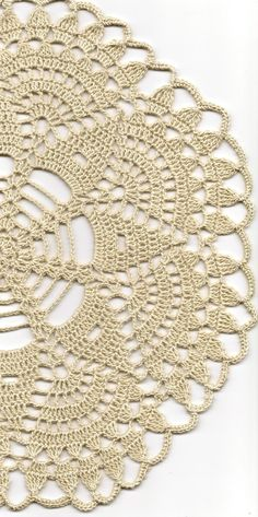 Presente de Natal Crochet doilies doily laço tabela DoilyWorld