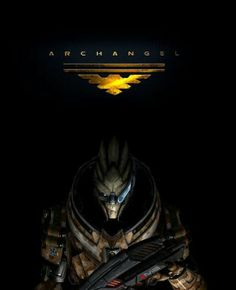 Garrus as Archangel | All Things Mass Effect