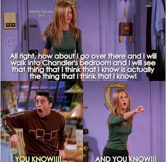 """They should named this episode """"The One with the Tongue Twister"""" Friends Funny Moments, Friends Show, Friends Scenes, Friends Episodes, Friends Cast, Missing My Friend, That One Friend, Friend Jokes, Happiness Challenge"""