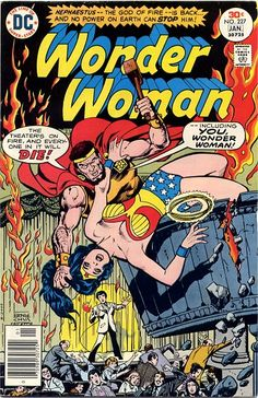 Cover of Wonder Woman Issue 227