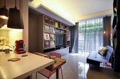Darrin's Super Compact Bachelor Pad in Singapore — House Call