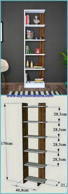 Best Tips For Utilizing Wooden Pallets – DIY Motivations Pallet Art, Diy Pallet Projects, Pallet Ideas, Craft Projects, Pallet Furniture, Cool Furniture, Bookshelf Organization, Wooden Rack, Book Racks