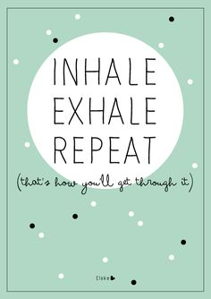 Inhale exhale | Elske | www.elskeleenstra.nl