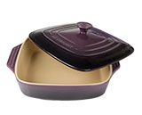 Le Creuset Purple Square Baker with Lid - $82.93 - $84.95 at The Purple Store