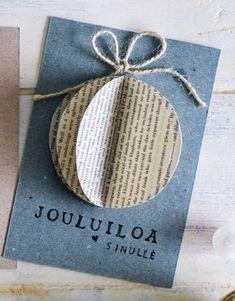 Christmas Card Crafts, Christmas Gift Wrapping, Xmas Cards, Christmas Art, Simple Christmas, Winter Christmas, Diy Cards, Christmas Decorations, Christmas Inspiration