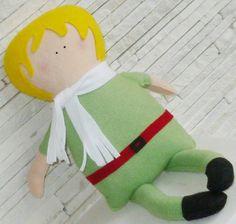 Little Prince Doll.  Feito em feltro e fibra siliconada. R$ 60,00