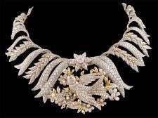TIFFANY & Co. Schlumberger Diamond Bird Necklace