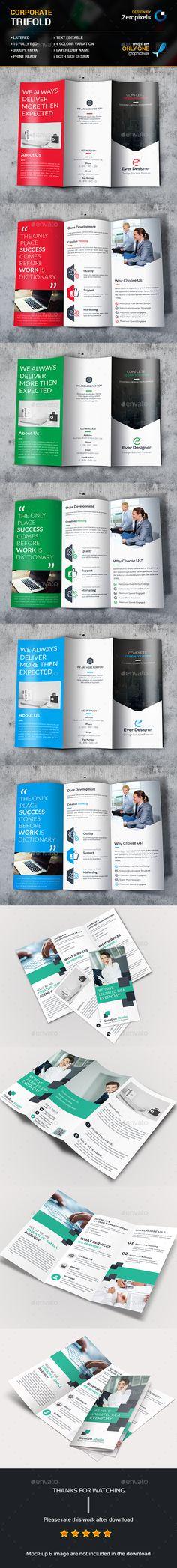 Trifold Brochure Bundle