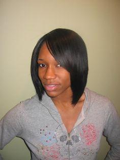 black hair styles | Black Hair Cuts Bob | Black Hairstyles Gallery
