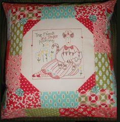 A beautiful Ladybug Dreams Cushion.