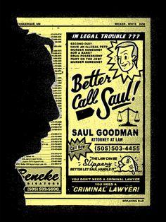 Saul Goodman of Breaking Bad