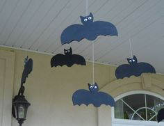 Bats for the front porch