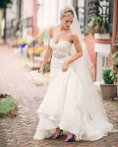 Real Brides who wore Eugenia Couture on their special day share their story & pictures with everyone.