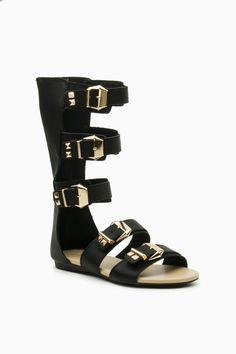 ShopSosie Style : Aldora Gladiator Sandals