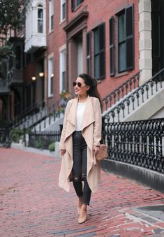 Soft trench + fall favorites back in stock, extra petite, jean wang, fashio Fall Outfits 2018, Fall Outfits For Work, Fashion For Petite Women, Office Fashion Women, Date Outfit Casual, Casual Fall Outfits, Winter Outfits, Office Outfits, Extra Petite Blog