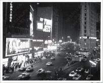 8 x 10 print of Times Square, New York City, ca. 1960 .