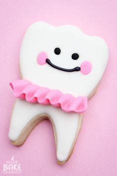 MBC: Tooth Fairy Girl Cookies!!