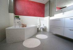 Badkamer met tadelakt muren
