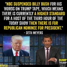Funniest Memes Reacting to Trump's Groping Scandal: Billy Bush's Suspension