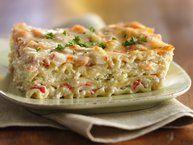 Seafood Lasagna Recipe from Betty Crocker