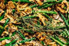 A super mushroom-y, totally from scratch update to the best vegetable dish ever invented in America in the 50s. Mushroom Soup, Creamed Mushrooms, Stuffed Mushrooms, Stuffed Peppers, Classic Green Bean Casserole, Can Green Beans, French Fried Onions, Fish Sauce