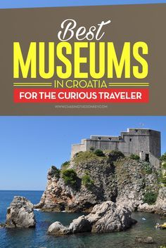Here is a massive list of the greatest museums in Croatia. Some of our faves and some suggested by friends. Europe Travel Tips, Travel Destinations, Travel Hacks, Travel Plan, Travel Articles, Travel Advice, Travel Guides, Visit Croatia, Croatia Travel