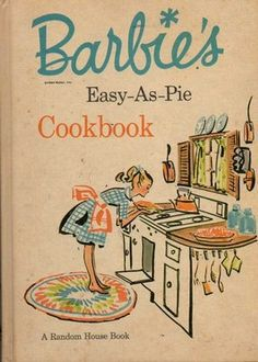 Vintage child's beginning cookbook