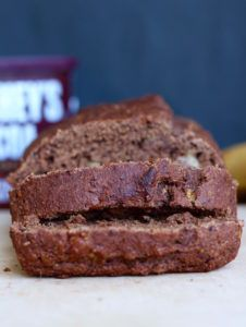 Gluten Free Double Chocolate Banana Bread