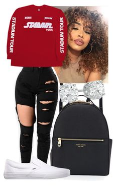 """Untitled #325"" by bebelindaedouard ❤ liked on Polyvore featuring Henri Bendel and Vans"