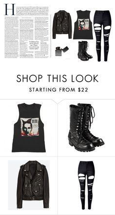 """Marilyn Manson."" by ebj332 on Polyvore featuring moda, Comme des Garçons, Jakke y WithChic"
