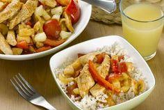 Thai Sweet and Sour Chicken Stir Fry Recipe