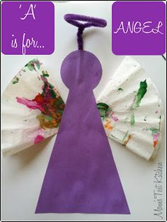 I kid you not, I spellchecked Angel a half dozen times because it just did not look right!! This would be a fun craft for Christmas time! SUPPLIES:2 pieces of construction paper (1 white, 1 color of choice)2 coffee filterspaintpipe cleaner – preferably matching the second piece of construction paperglue LETS CREATE:1. Start by letting your …