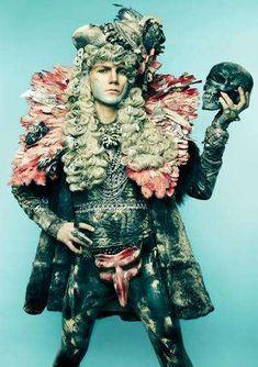 Trashy-Chic Photograhy : Danil Golovkin Garbage Reign