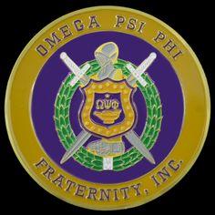 Omega Psi Phi Car Badge $7.99