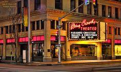 The Bing Crosby Theater in downtown Spokane (Sprague and Lincoln) Spokane, Washington 12/09