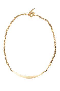 Selasse Gold Crescent Choker @accompanyUS