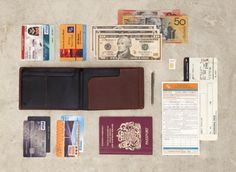 Travel Wallet by Bellroy - I know it's a dude wallet, but I don't care. I need this.