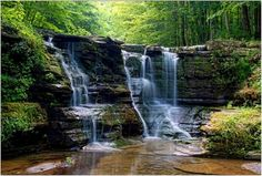 waterfalls scenic-places