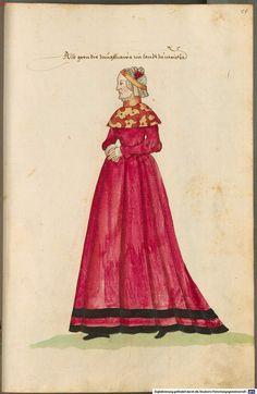 Maiden from Meissen. German garb