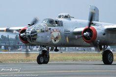 """IN THE MOOD"" North American Aviation B-25J-20-NC Michell (Sn 44-29199) )cn 108-32474) (N9117Z) Tail Code (198) Owned by Bob Lumbard & Bill Klaers, Rialto, (San Bernardino County) California (1994-Present) (1)"