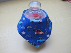 Reversible car-traffic-stars bib for babies and children Bees